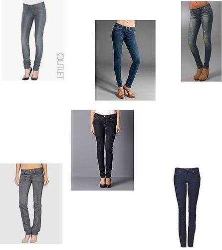 Skinny jeans in labels celebrities love