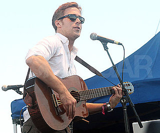 Slide Picture of Ryan Gosling Playing Guitar With Dead Man's Bones