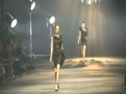 Paris Fashion Week: Lanvin Spring 2010 Video