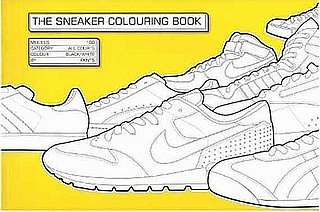 Cool Sneaker Coloring Book For Kids