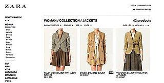 Shop Zara Online for European and UK Customers