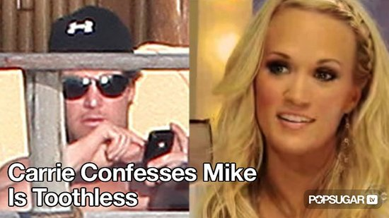 Video of Carrie Underwood Talking About Mike Fisher Having No Teeth