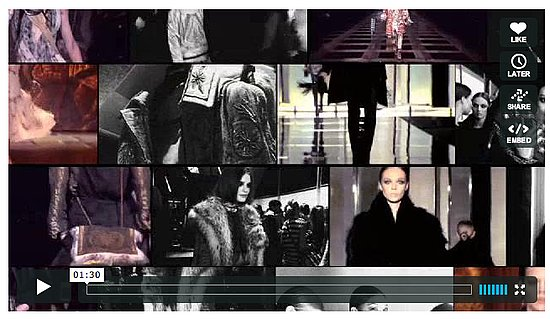 Part One of Roberto Cavalli's 40th Anniversary Book Footage