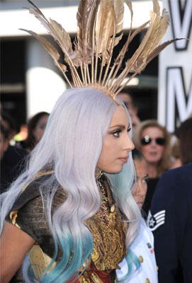 Lady Gaga at 2010 MTV VMAs