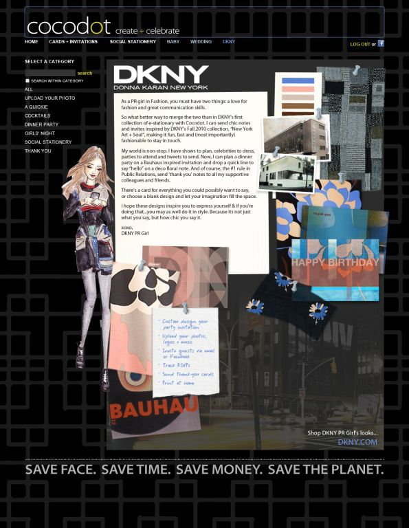 DKNY For Cocodot.com