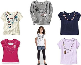 Necklace Tees For Girls