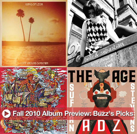 New Upcoming Albums and Fall Music Preview