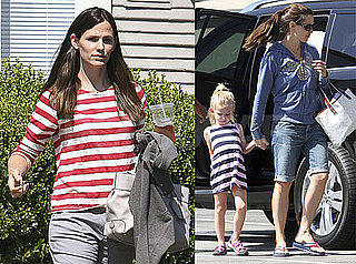 Pictures of Jennifer Garner Going to a Meeting in LA