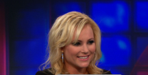 Video of Meghan McCain on The Daily Show