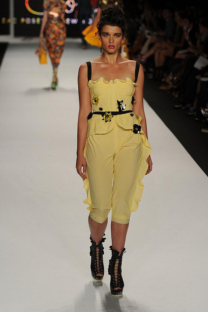 Crystal Renn Makes New York Fashion Week Appearance at Z Spoke