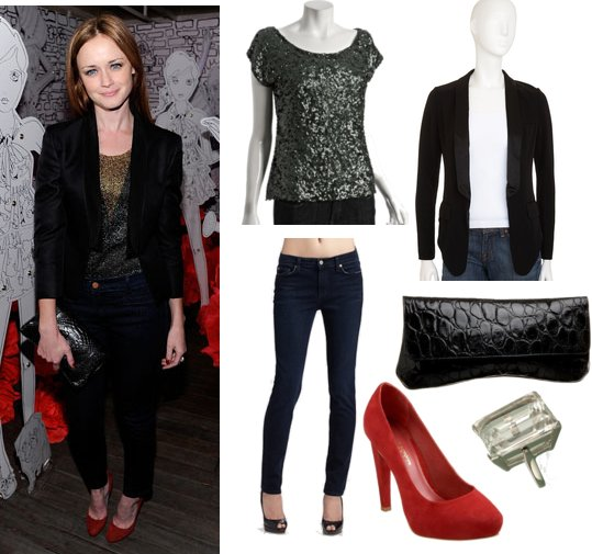 Pictures of Alexis Bledel at Mulberry at 2011 Spring ...