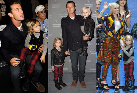 Gwen Stefani, Gavin Rossdale and Sarah Jessica Parker at New York Fashion Week