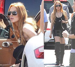 PopSugar Poll —Do You Think Lindsay Lohan Should Go Back to Jail After Violating Her Probation?