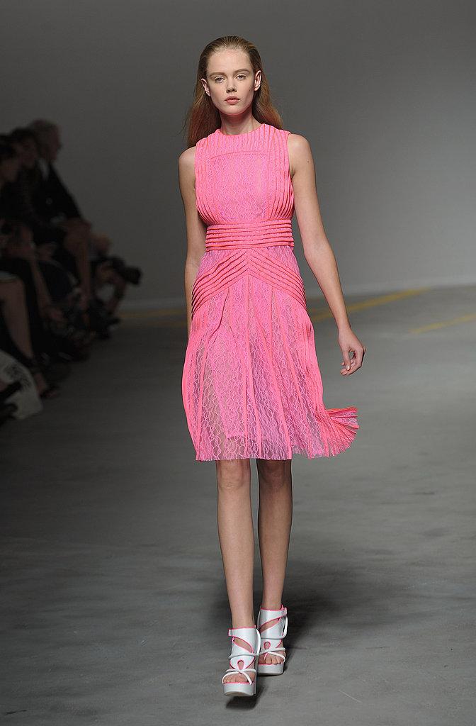 2011 Spring London Fashion Week: Christopher Kane