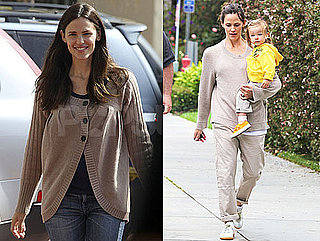 Pictures of Jennifer Garner and Seraphina in LA