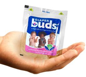 Individually Wrapped Diapers For on the Go