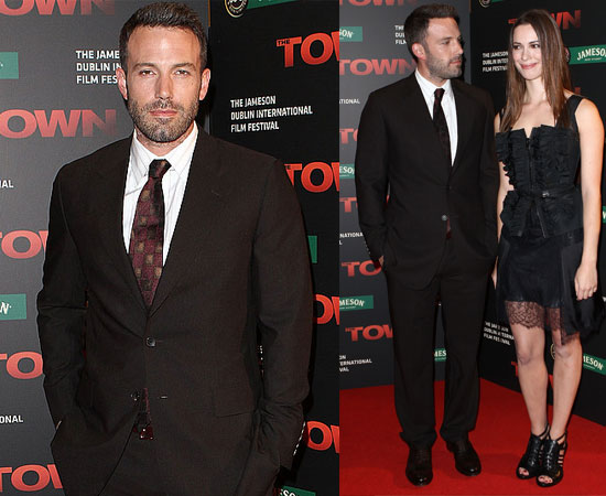 The Town Premiere with Ben Affleck and Rebecca Hall in Dublin