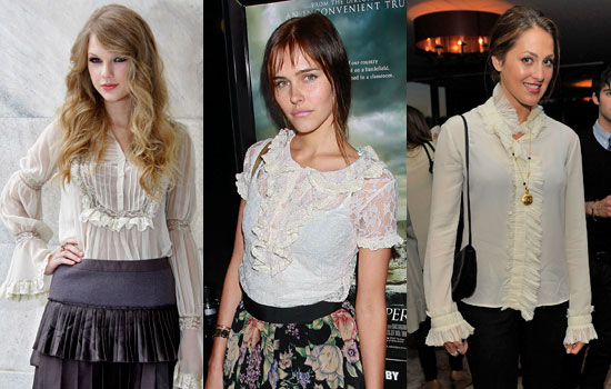 Romantic Blouse Trend For Fall 2010