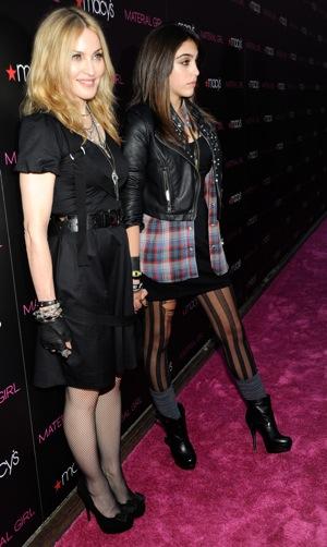 Madonna Strict Mom When It Comes to Lourdes's Wardrobe