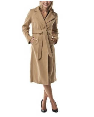 Merona Collection Couture Robe Wool Coat ($70)