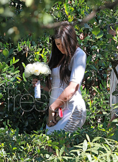 Photos of Khloe Kardashian and Lamar Odom Renewing Vows