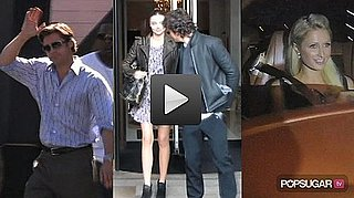 Video of Brad Pitt Filming Moneyball, Miranda Kerr and Orlando Bloom in Paris, and Paris Hilton and Her Boyfriend in Alleged Hit 2010-09-30 14:45:00