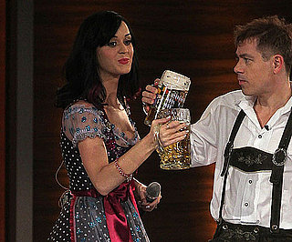 Slide Picture of Katy Perry Dressed For Oktoberfest on Wetten Dass
