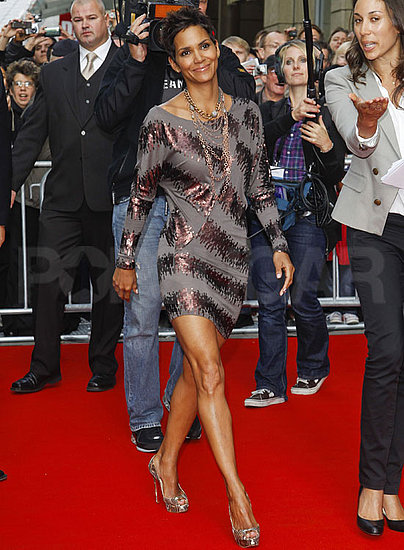Pictures of Halle Berry Promoting Her Fragrance in Germany