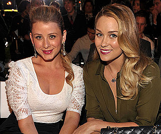 Slide Picture of Lauren Conrad and Lo Bosworth at Teen Vogue Party