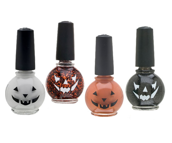 Pumpkin Polishes