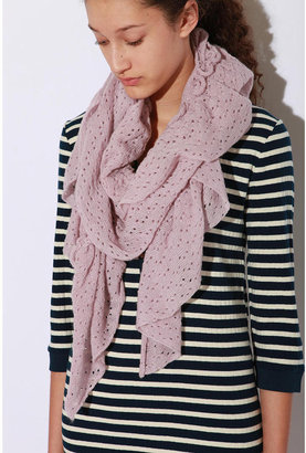 Pins and Needles Pointelle Scarf ($28)