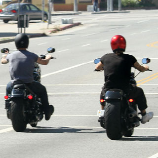 Guess Who's Riding a Motorcycle?