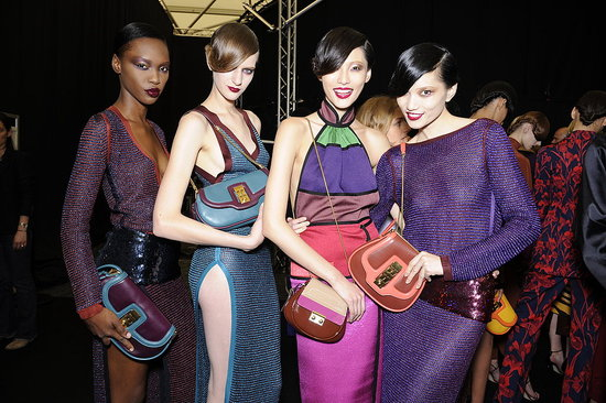 Backstage Photos from Paris Fashion Week Spring 2011: Louis Vuitton, Hermes, John Galliano, Alexander McQueen, Chloe