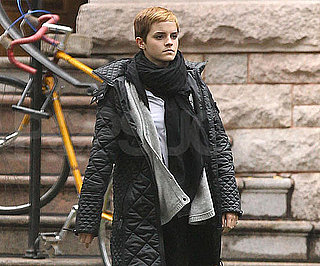 Slide Picture of Emma Watson Leaving the Gym at Brown University in NYC
