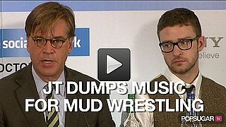 Video of Justin Timberlake on His Next Album and Naked Mud Wrestling