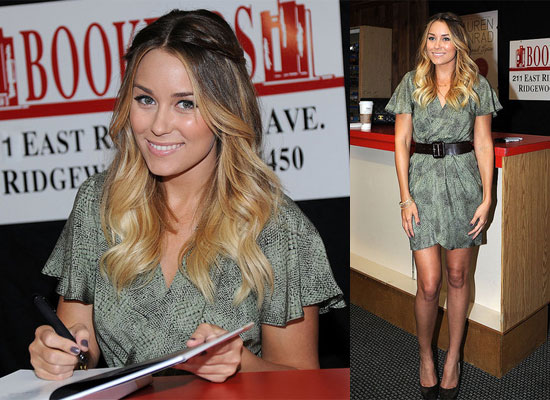 Lauren Conrad on Book Tour Promoting Sugar and Spice in New Jersey