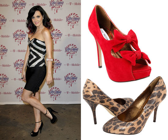 Katy Perry Shoe Collection With Steve Madden 2010-10-11 10:00:05