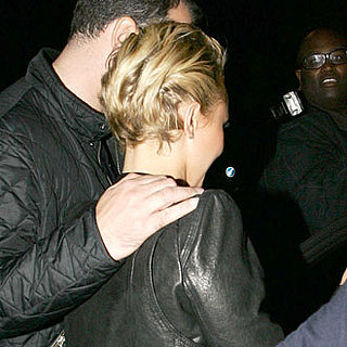 Guess Who Got a Late-Night Shoulder Rub Leaving a Club?
