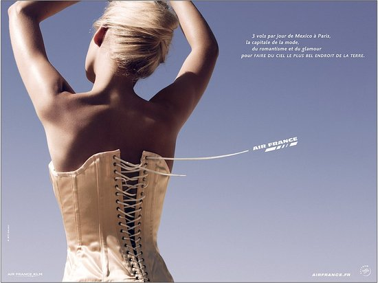 Air France's Racy Travel Ad