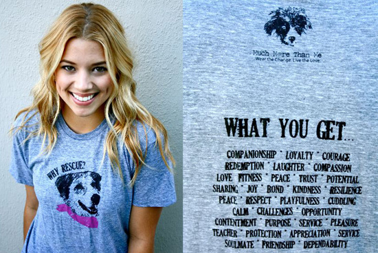 Shirts For Adopt a Shelter Dog Month