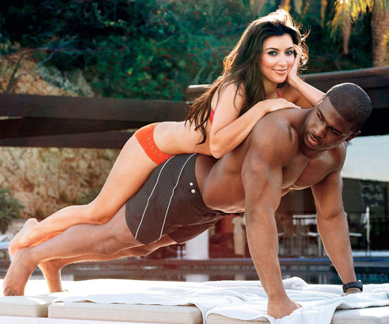 She playfully posed with her then-boyfriend Reggie Bush for their sexy March 2009 GQ spread.