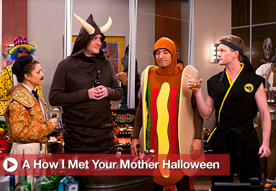 How I Met Your Mother Halloween Costume Pics 2010-10-17 23:00:00