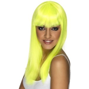 Glamourama Wig - Neon Yellow (£6.39)