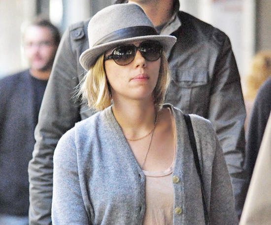 Scarlett Johansson's New Haircut