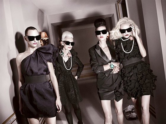 Lanvin For H&M first campaign picture, shot by David Sims