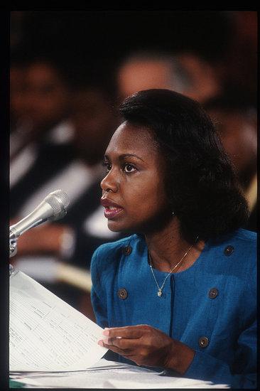 Ginni Thomas Leaves Anita Hill a Voice Mail