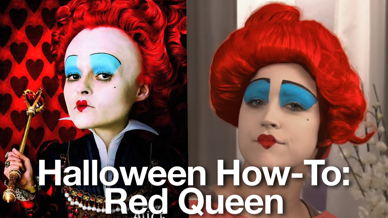 Share This Link Queen Of Hearts Makeup Tim Burton