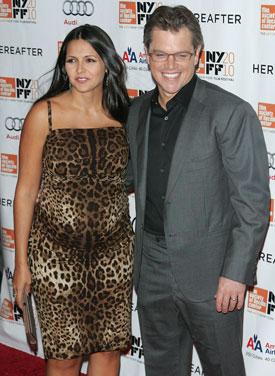 Matt Damon and Luciana Welcome Baby Stella Zavala! 2010-10-23 23:30:00