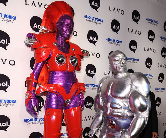 Slide Picture of Heidi Klum and Seal's Halloween Costumes