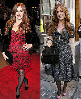 Pictures of Isla Fisher at Her Burke and Hare Premiere in London